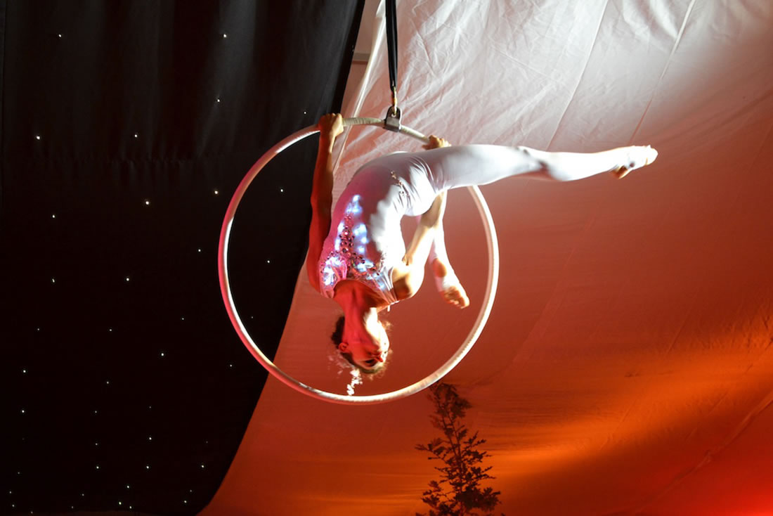 Aerial Shows - Hoop Gallery - Hoop LED
