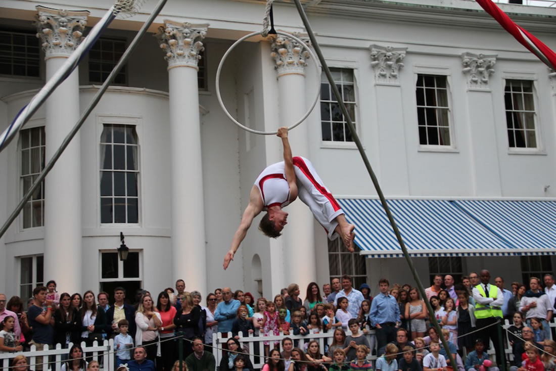 Aerial Shows - Hoop Gallery - Hurlingham Club 2