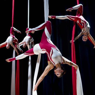 Aerial Shows - Silks Hero - 1