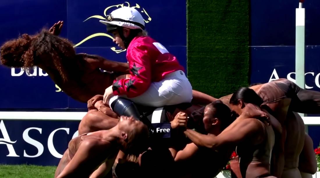 Bespoke Marketing - Gallery - Ascot human horse 4