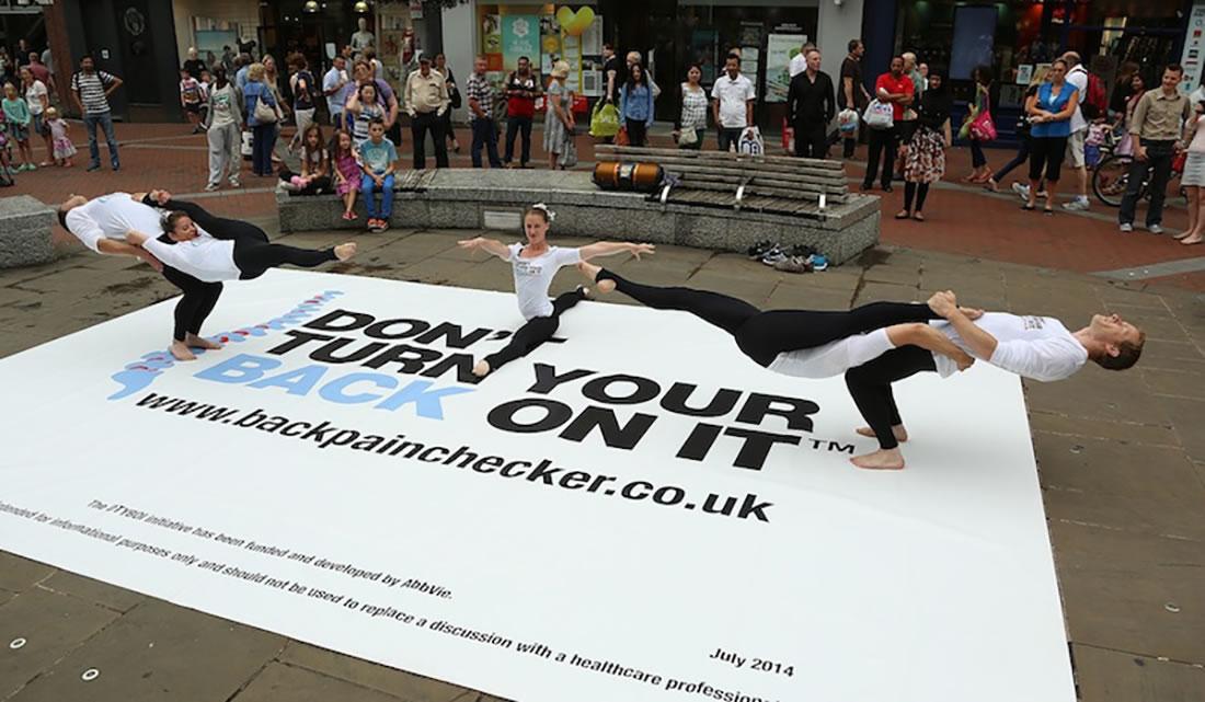 Bespoke Marketing - Gallery - Backpain Awareness Campaign 5