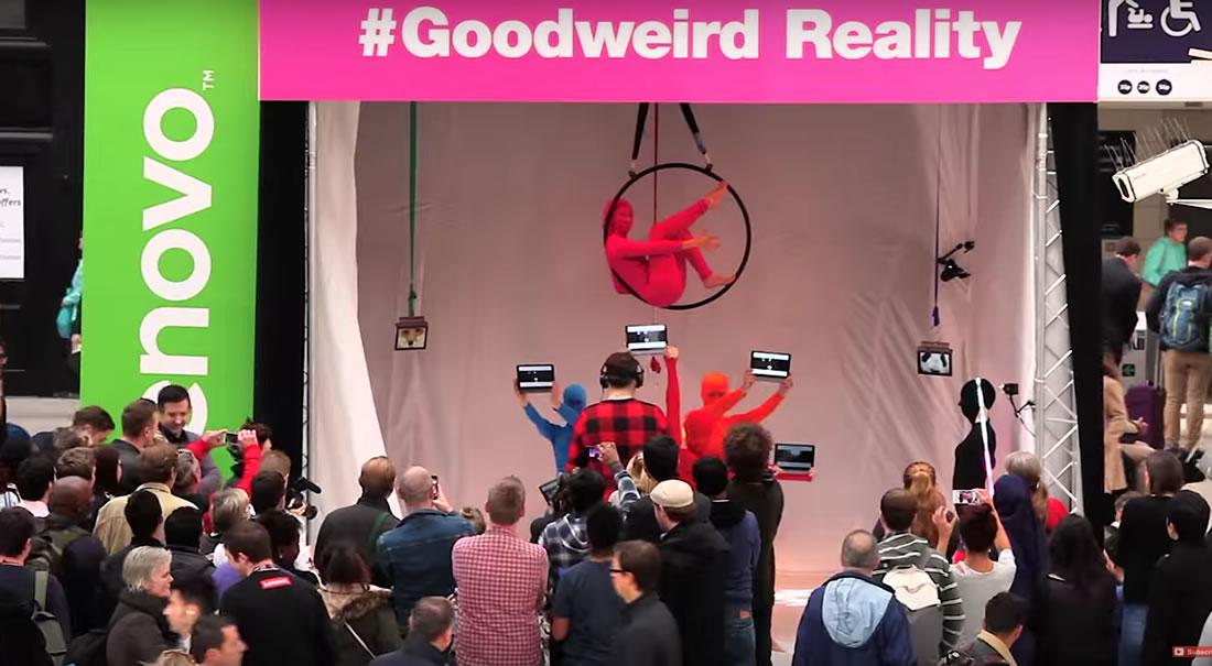 Bespoke Marketing - Gallery - Lenovo viral video