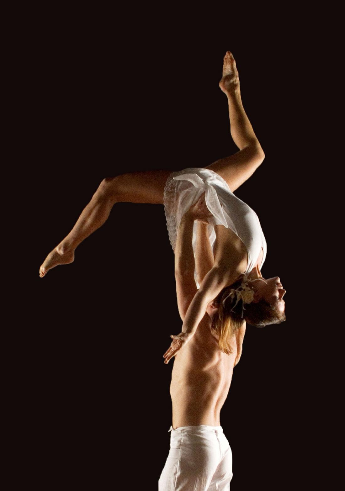 Groundbased Shows - Acrobats Gallery - Acrobatic duet