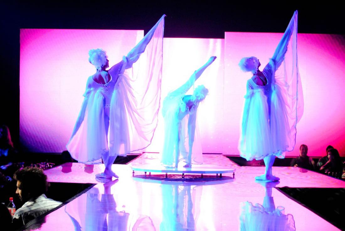 Groundbased Shows - Ballerinas Gallery - Absolut Vodka Marocco