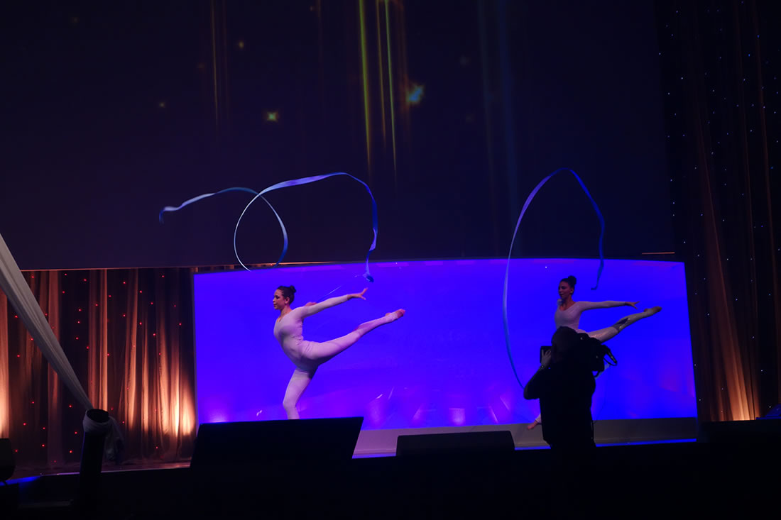 Groundbased Shows - Gymnasts Gallery - Ribbon dancers