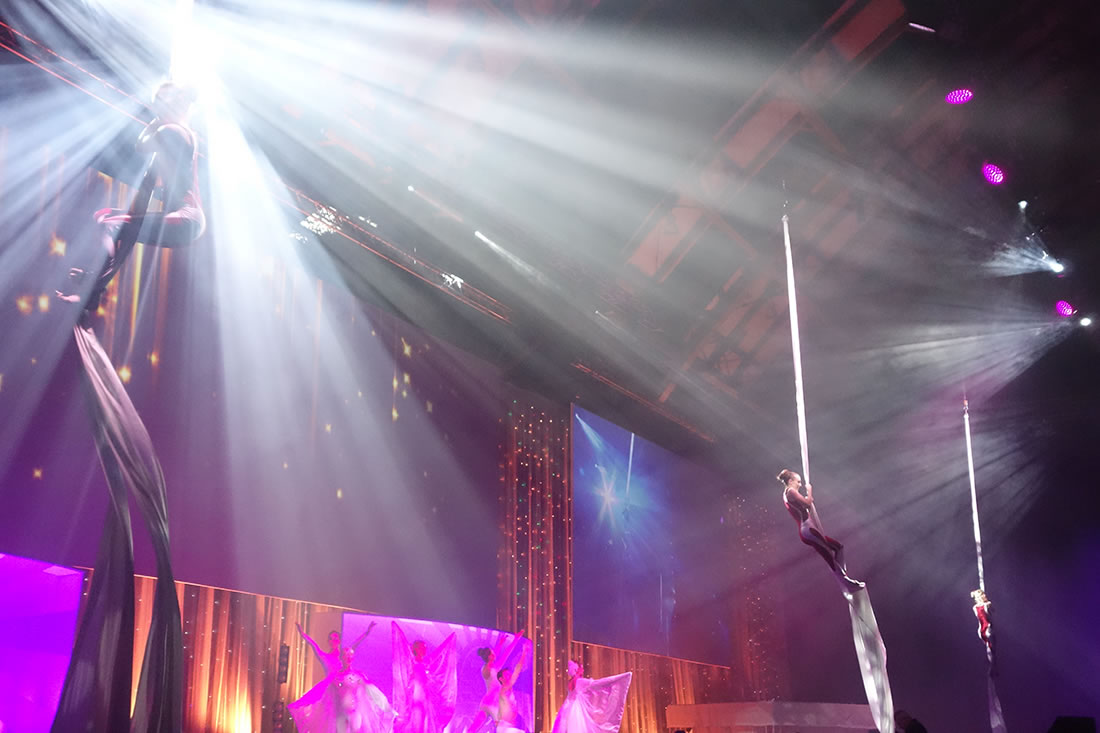 Large Cirque Shows - Gallery - Costa, Manchester Central 5