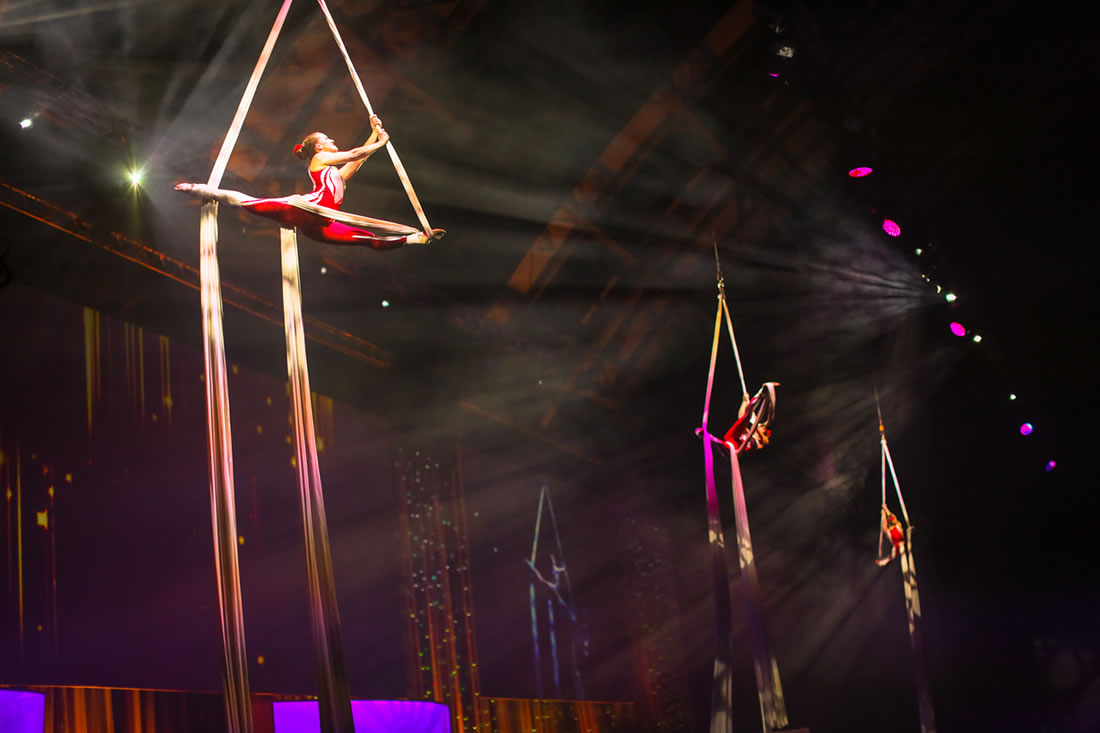 Large Cirque Shows - Gallery - Costa, Manchester Central 7