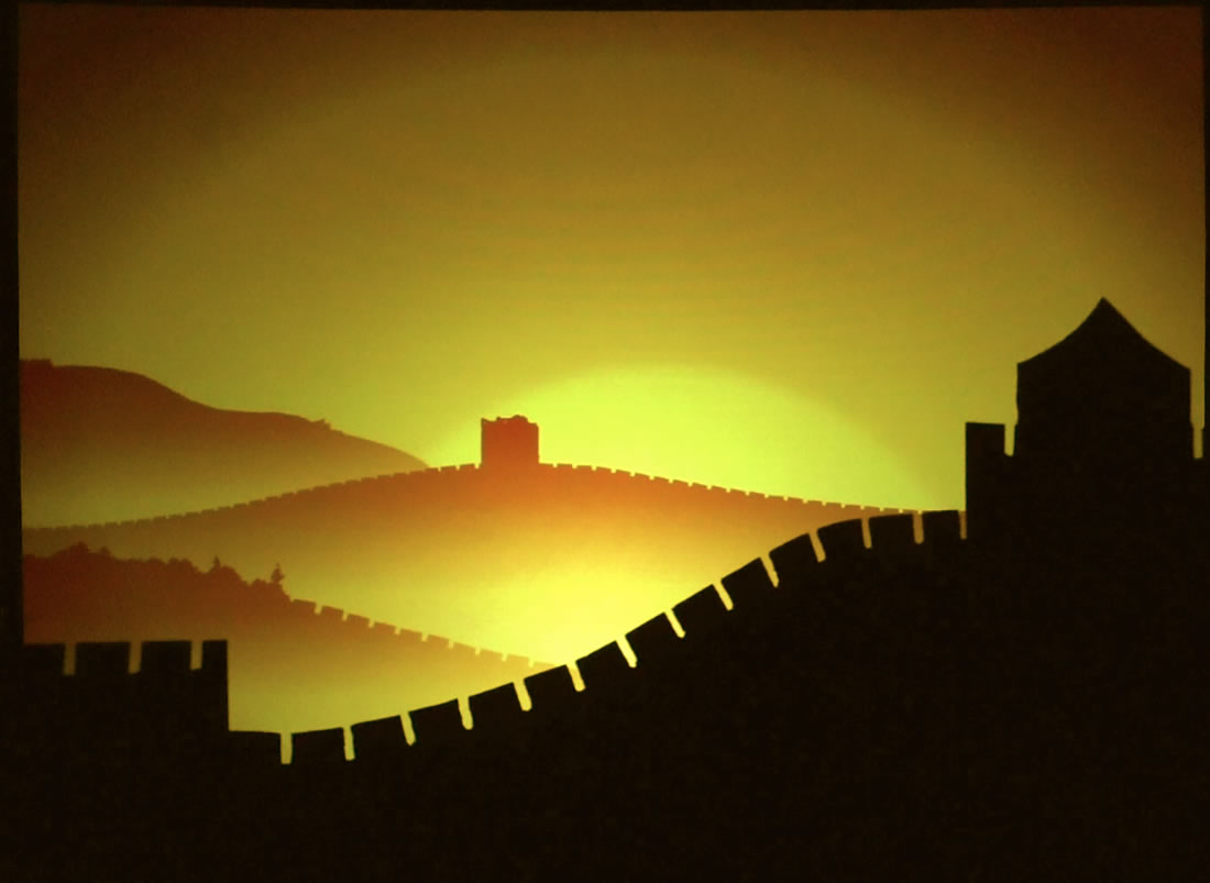 Shadow Shows - Connect Gallery - Great Wall of China